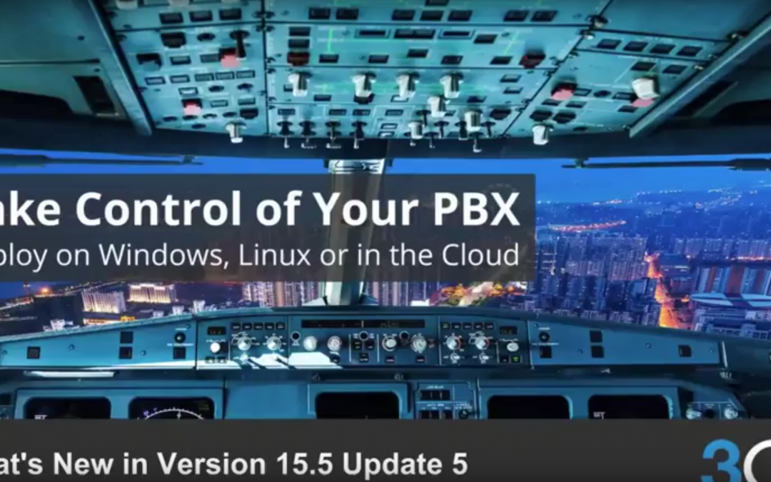 What's new in 3CX V15.5 Update 5